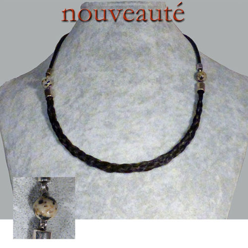 collier en crin de cheval
